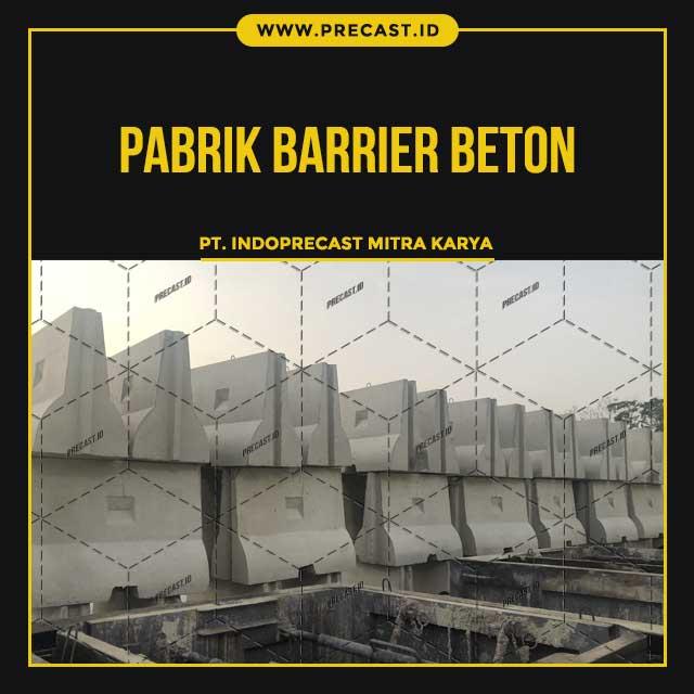 Pabrik Barrier Beton