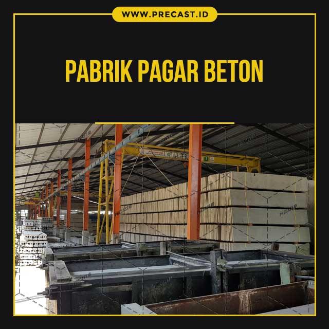 Pabrik Pagar Beton