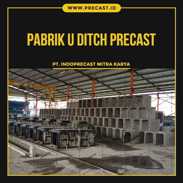 Pabrik U Ditch Precast